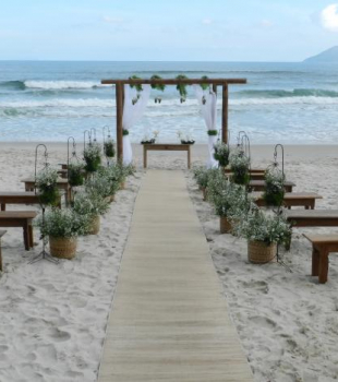 Casar na praia?