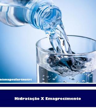 Hidratação e emagrecimento