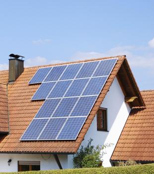 Economizando com energia solar