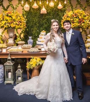 Casamento de Lygia Mancini e Vinícius Campos