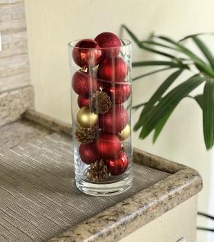 Ideias bem fáceis para decorar a mesa de Natal
