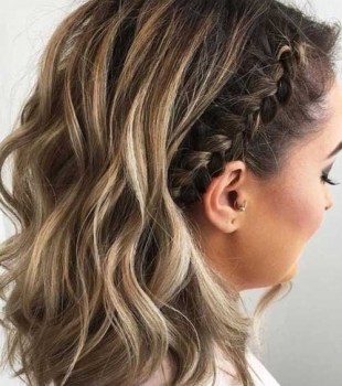 Os penteados com tranças