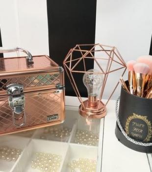 Ideias de decoração com Rose Gold
