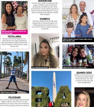 Coluna social com Vânia Carvalho